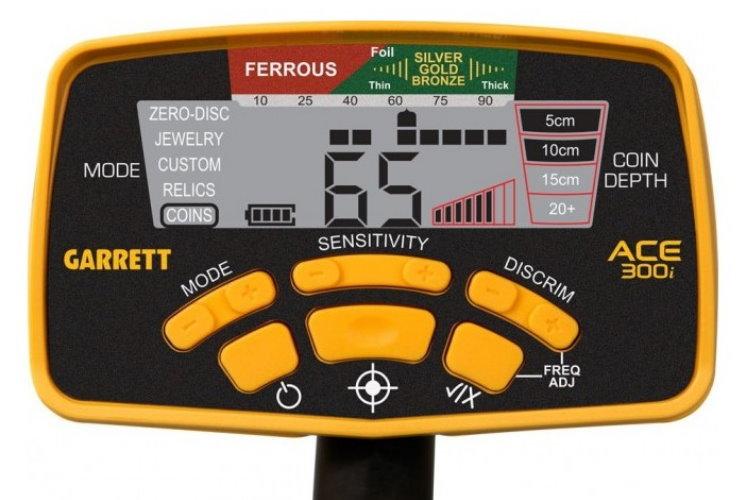 Garrett ACE 300i+ Metalldetektor & Xpointer Pinpointer