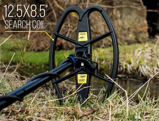 CORS SCOUT Hochleistungsspule für für Fisher F11/F22/F44/F5/Gold Bug/F19