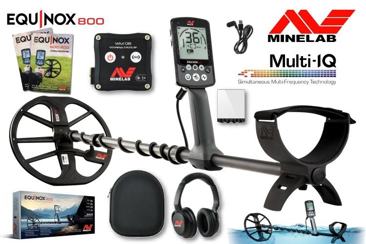 Minelab Equinox 800 Metalldetektor