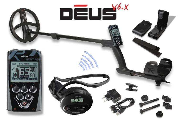 Metalldetektor XP Deus mit 22.5cm Spule X35