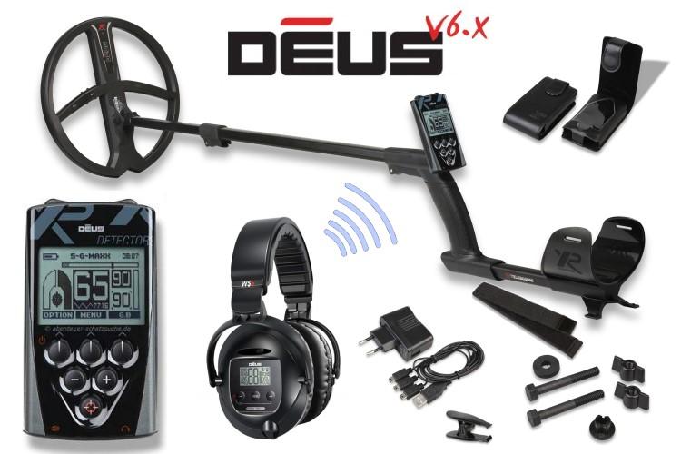 Metalldetektor XP Deus mit 22.5cm Spule